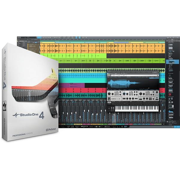 Studio 4 Professional Interface