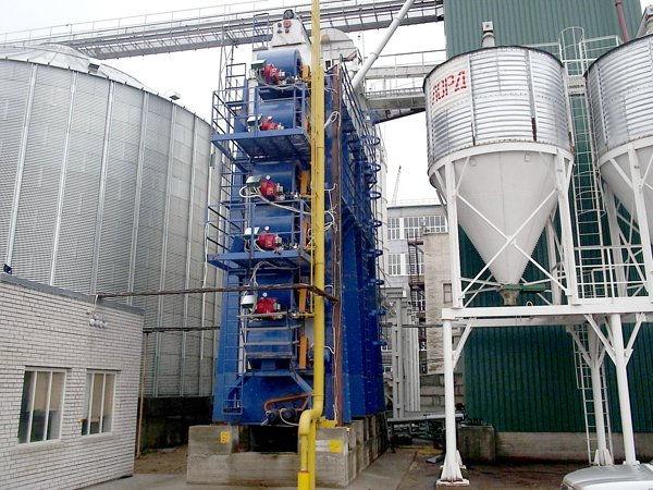 Горелки ГГБ-100 установлены на зерносуши
