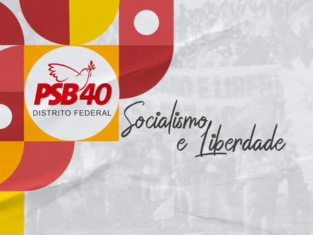 PSB-DF divulga nota sobre Operação Dinheiro Sujo