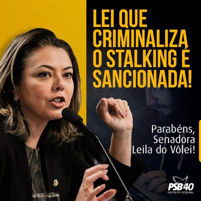 2021-04-01 - Leila do Volei - Lei contra