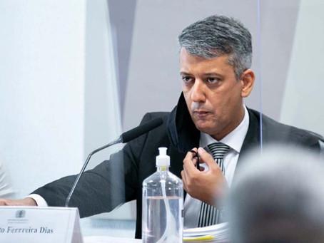 À CPI, Roberto Dias nega pedido de propina e chama vendedor de picareta