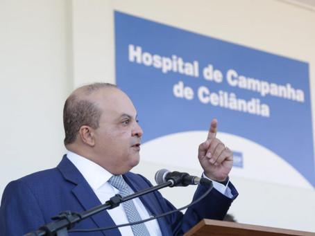 GDF tem 5 dias para se explicar ao TCDF sobre contratos dos hospitais de campanha