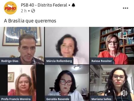 PSB-DF promove debate sobre Brasília e lança livro da cidade e as mulheres socialistas