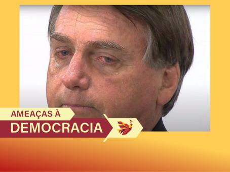 Arregou: Bolsonaro tem ajuda de Temer para pedir desculpas pelos ataques às instituições