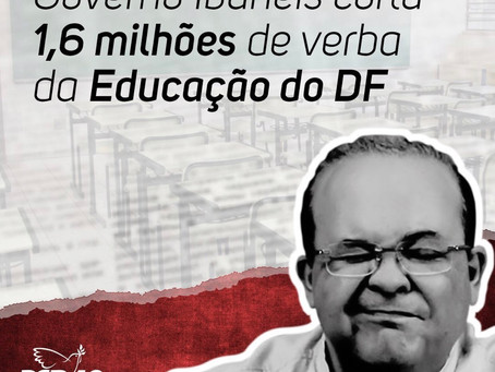 TCDF cobra da Secretaria de Educação corte de R$ 1,6 milhão de verba repassada a escolas