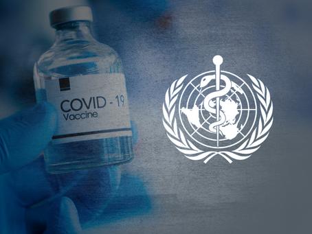 OMS rediscute critérios para distribuição de vacinas