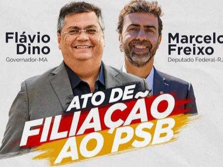 Siqueira convida para ato de filiação de Flávio Dino e Marcelo Freixo nesta terça (22)