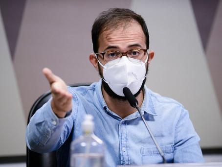 Irmão do deputado Luis Miranda diz não ter mais as mensagens sobre Covaxin