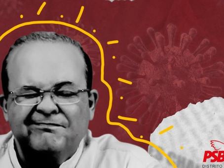 PSB questiona Ibaneis: Por que temer a CPI da pandemia no DF?