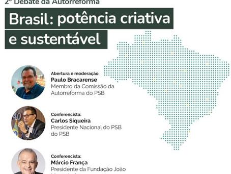 Assita hoje! 2º debate da Autorreforma