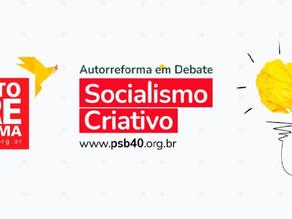 PSB discute Autorreforma em evento virtual, nesta segunda (19)