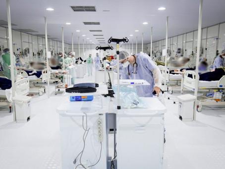 Mesmo sem leitos de UTI, hospital recém-inaugurado por Ibaneis recebe pacientes graves