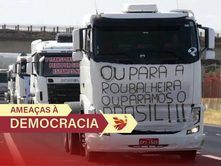 Locaute: paralisação não é organizada por caminhoneiros, mas por setores do agronegócio