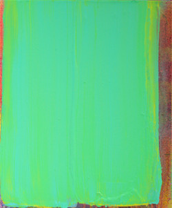 Eunji Ahn, Light Green Green_45.8x38cm_acrylic on canvas_2017