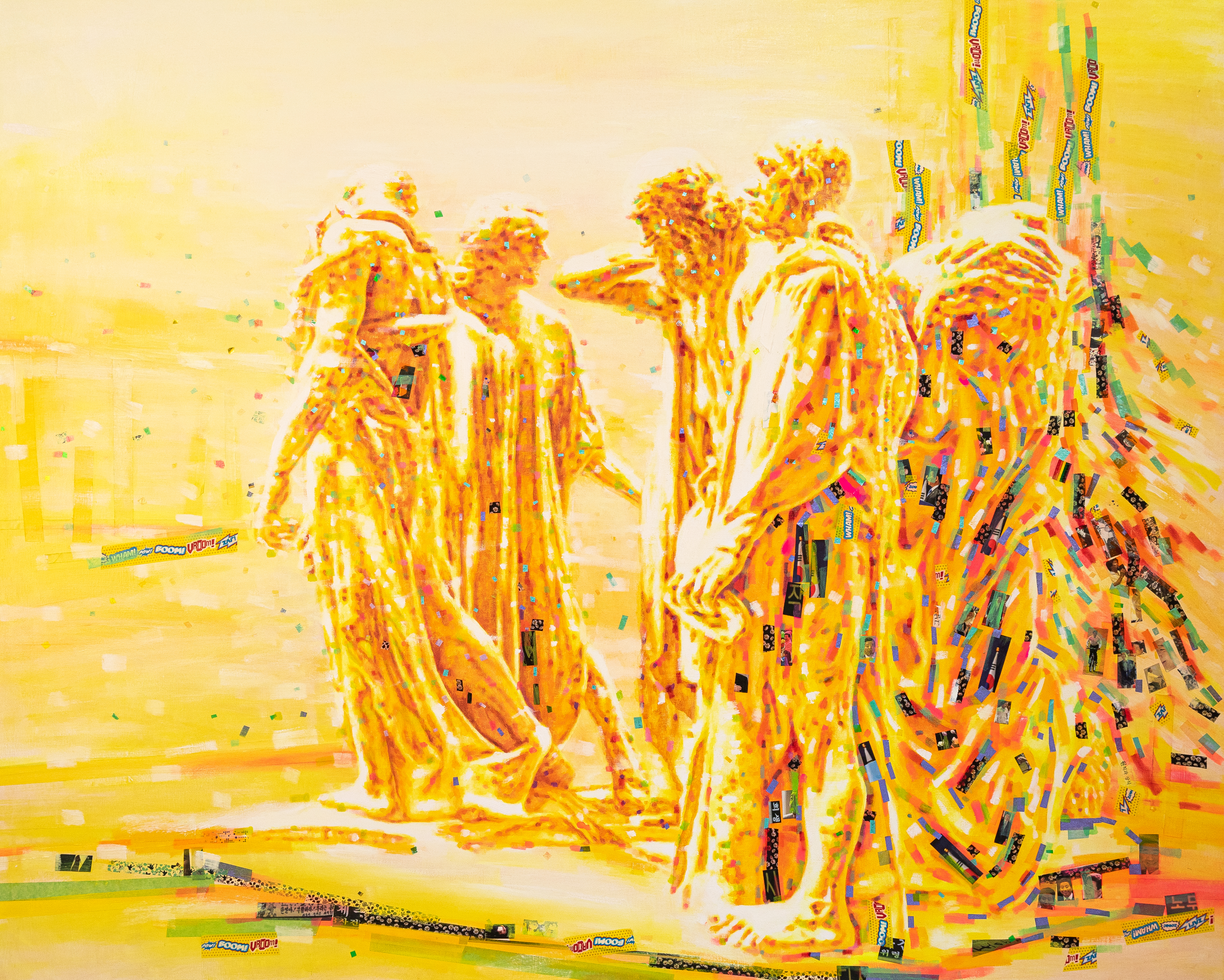 Memories of Colors, The Burghers of Calais