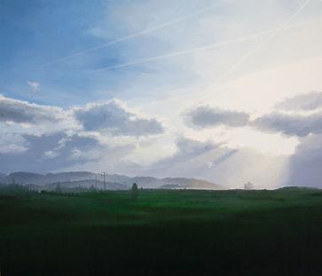 류채민-하늘이 아름다운 어느날에... 53x45.5cm oil on ca