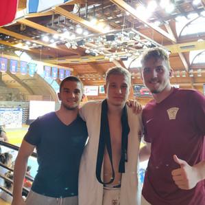 Platz fünf für Niko beim U21 Europa Cup in Paks, Ungarn