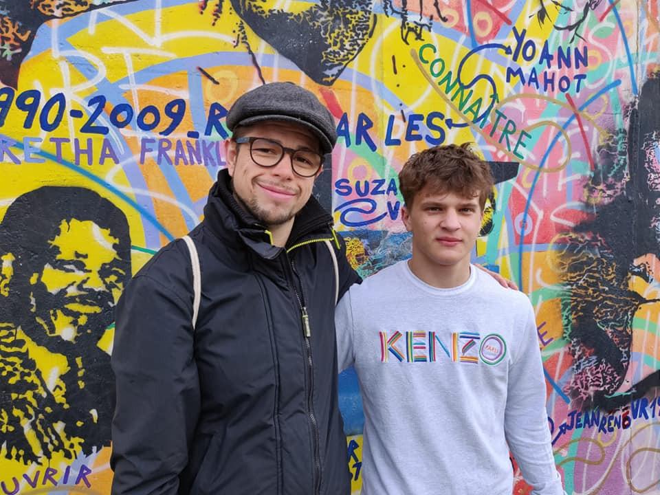 Martin und Adam in Berlin