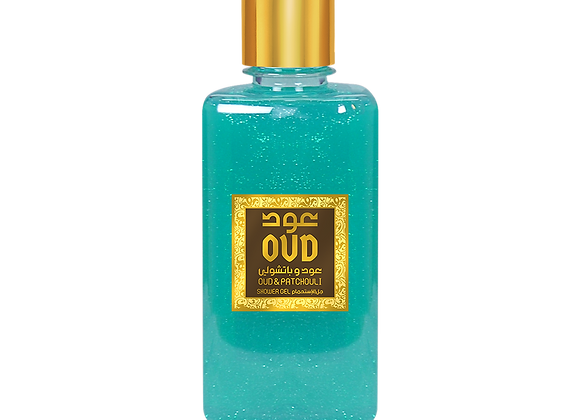 OudLux Oud and patchouli shower gel 300ml