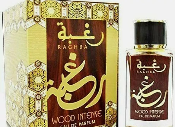 Raghba Wood Intense by Lattafa 100ml edp