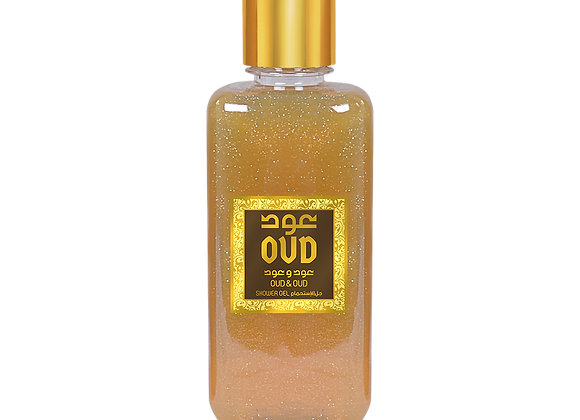 Oudlux Oud and Oud shower gel 300ml