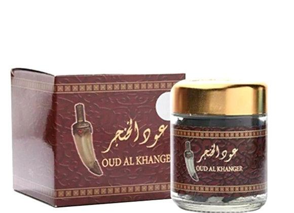 Oud Al Khanger / Khanjar 50g   Arabian Home Incense, by Banafa Oud