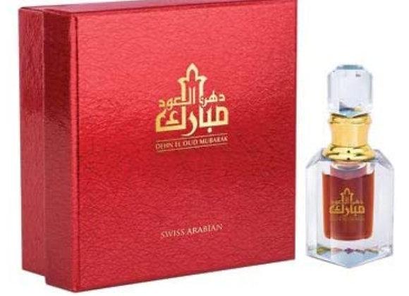 Dehnal Oud Mubarak - Premium Concentrated Oud Fragrance Oil