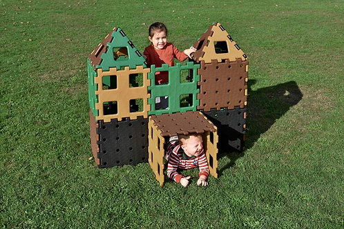 Extra Large Natural Garden Construction Toy - 24pcs