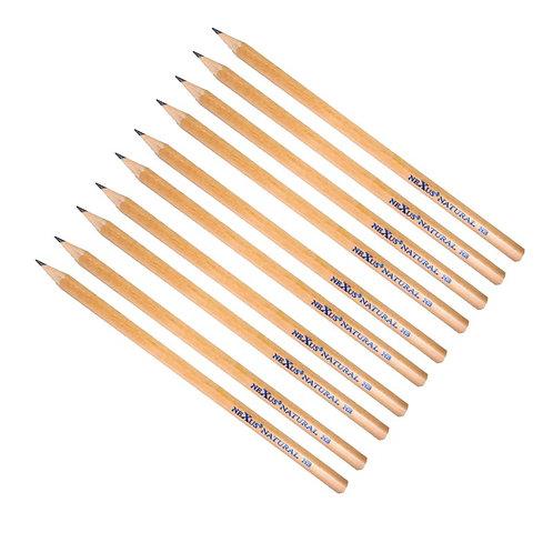 Basswood HB Pencils x 10