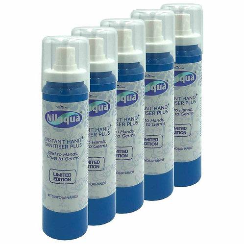 Nilaqua Sanitiser Spray 100ml - Pack of 5