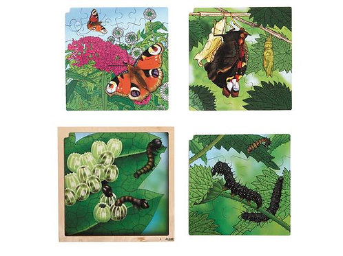 Butterfly Life Cycle Puzzle (86 pieces)