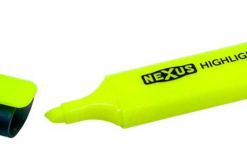Nexus Long Life Highlighter (Pack of 30)