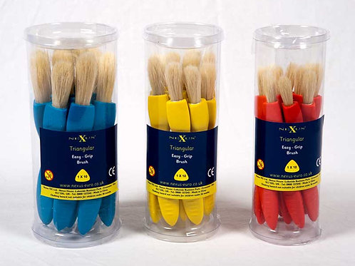 Nexus Jumbo Triangular Paint Brush Set