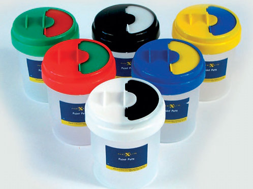 Nexus Non Spill Paint Pot Set (6 pots)