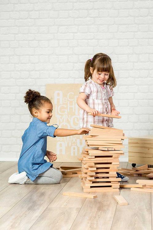 Nexus XXL Wooden Blocks Set - NOW £1.25 per piece