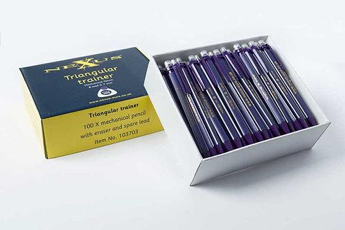 Nexus Trainer Pencils Purple 0.7mm (Pack of 30)