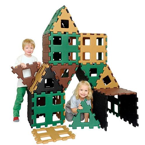 Extra Large Natural Garden Construction Toy - 36pcs