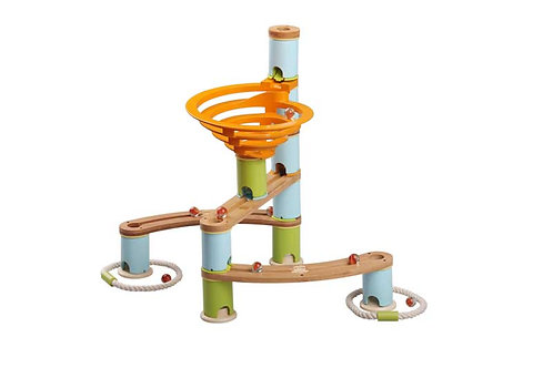 NexPlay Bamboo Marble Run