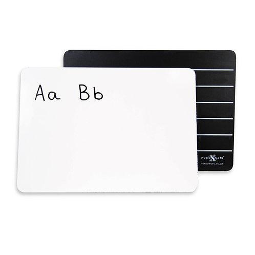 A4 Writing Board Whiteboard Lined Blackboard