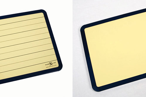 Nexus A4 Double Sided Lined Whiteboard (Buff Coloured) - Pack of 30
