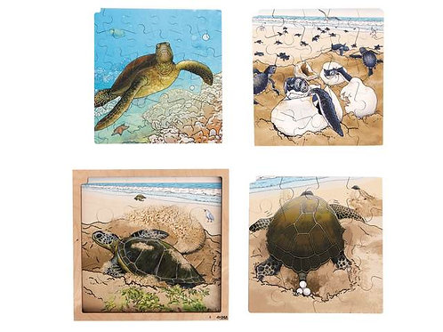 Turtle Life Cycle Puzzle (86 pieces)