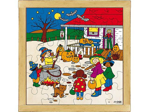 Halloween Puzzle Wooden Puzzle (36 pieces)