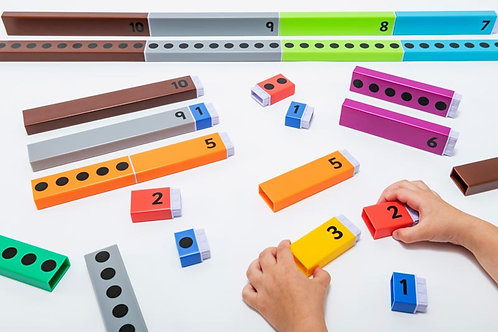 Number Bonds to Ten Counting  Rods