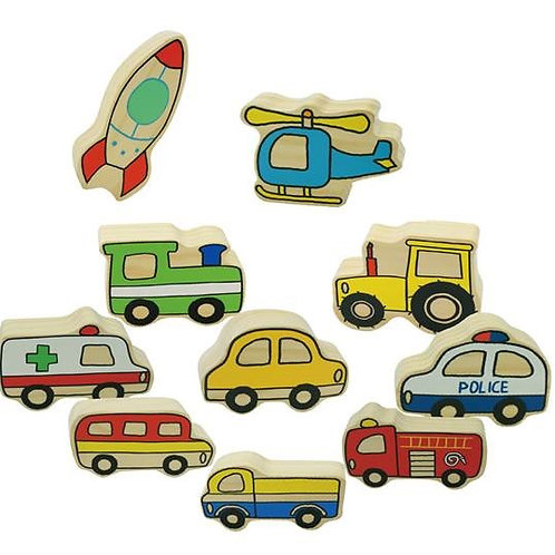 The Village Vehicles 20 Piece Set