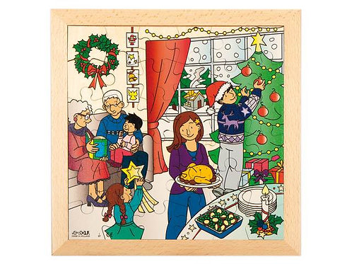 Christmas Wooden Puzzle (36 pieces)