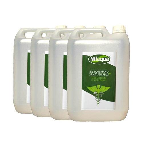 Nilaqua Sanitiser Spray Refill 5L - Pack of 4