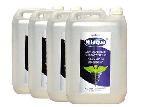 Nilaqua Surface Spray Refill 5L (Pack of 4)
