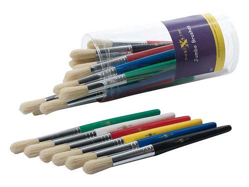 Nexus Jumbo Paint Brushes (Set of 6)