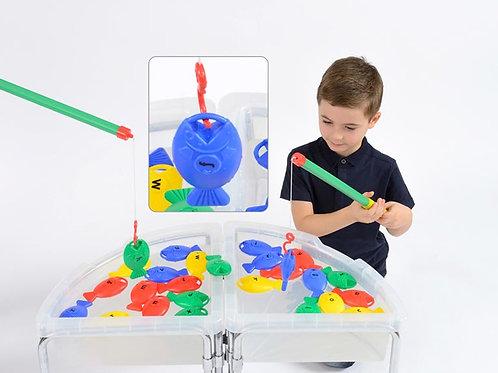 Giant Kids Fishing Game - A-Z