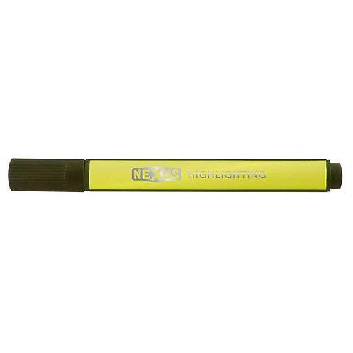 Nexus Yellow Triangular Highlighter (Pack of 30)